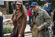 CATHERINE BAILEY; DAVID BAILEY, Chelsea Flower Show, 18 May 2015.
