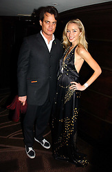 MATTHEW MELLON and NOELLE RENO at a party following the premier of Blood Diamonds hosted by Amnesty at The Dorchester, Park Lane, London on 23rd January 2007.<br /><br />NON EXCLUSIVE - WORLD RIGHTS