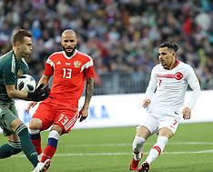 Russia v Turkey - 05 June 2018