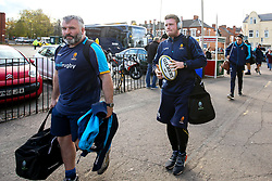 Niall Annett of Worcester Warriors arrives at Welford Road - Mandatory by-line: Robbie Stephenson/JMP - 03/11/2018 - RUGBY - Welford Road Stadium - Leicester, England - Leicester Tigers v Worcester Warriors - Gallagher Premiership Rugby