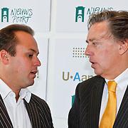 NLD/Den Haag/20100906 - Start Alfabetiseringsweek met installatie forum A tot Z, frans Bauer in gesprek met Ed Nijpels