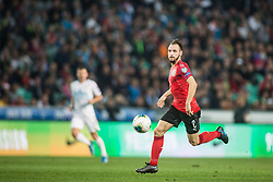 ULMER Andreas of Austria during the 2020 UEFA European Championships group G qualifying match between Slovenia and Austria at SRC Stozice on October 13, 2019 in Ljubljana, Slovenia. Photo by Peter Podobnik / Sportida