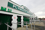 Home Park before the Sky Bet League 2 match between Plymouth Argyle and Notts County at Home Park, Plymouth, England on 27 February 2016. Photo by Graham Hunt.
