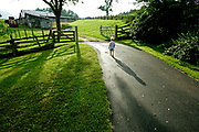 David at Sumerfield Farm.