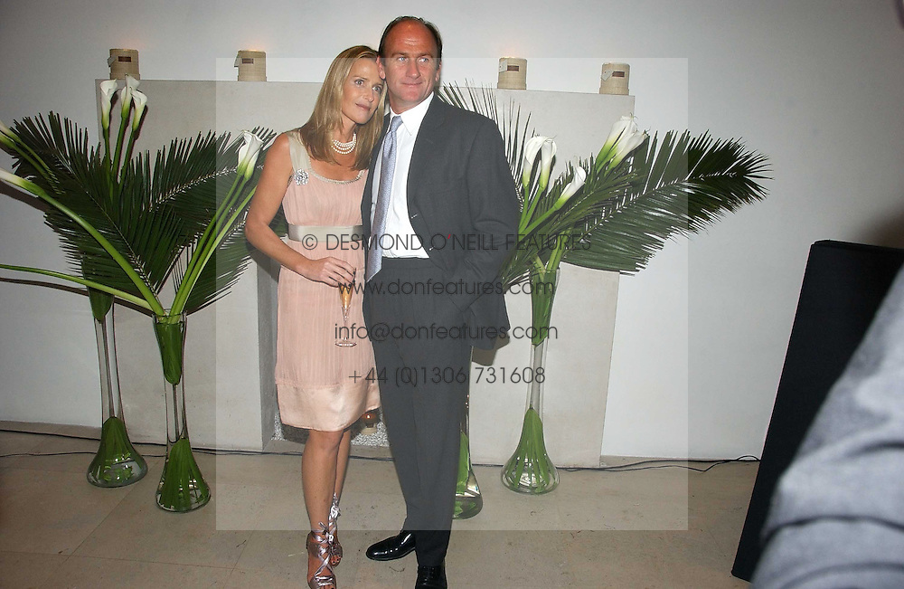 INDIA HICKS and DAVID FLINT WOOD at a party to celebrate the launch of India Hick's 'Island Living' range of frangrance and beauty products in association with Crabtree &amp; Evelyn held at The Hempel, Craven Hill Gardens, London on 22nd November 2006.<br />