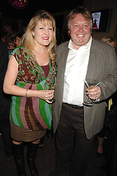 AMANDA ROSS and NICK FERRARI at a party to celebrate the publication of Piers Morgan's book 'Don't You Know Who I Am?' held at Paper, 68 Regent Street, London W1 on 18th April 2007.<br />