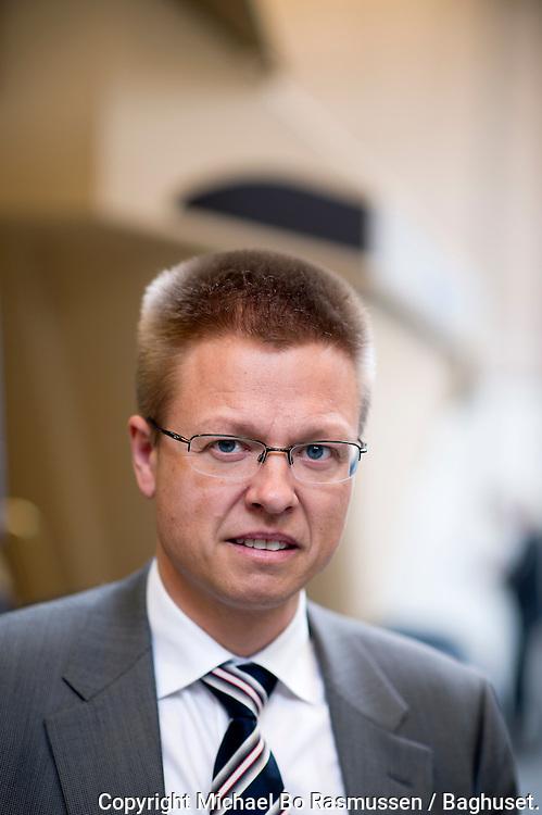 Hydrema. Direktør Jan Werner Jensen med dumper. Foto: © Michael Bo Rasmussen / Baghuset. Dato: 30.04.12