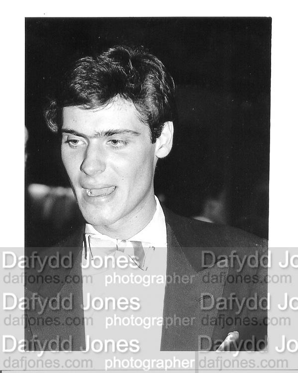 David Faber. Oxford. 1982. © Copyright Photograph by Dafydd Jones 66 Stockwell Park Rd. London SW9 0DA Tel 020 7733 0108 www.dafjones.com
