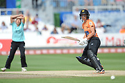 Sara McGlashan of Southern Vipers batting during the Women's Cricket Super League match between Southern Vipers and Surrey Stars at the 1st Central County Ground, Hove, United Kingdom on 14 August 2018.