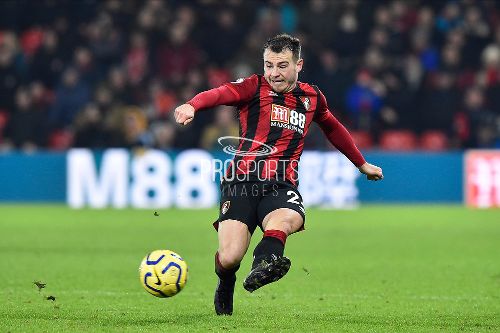 Ryan Fraser (24) of AFC Bournemouth on the attack during the Premier League match between Bournemouth and Brighton and Hove Albion at the Vitality Stadium, Bournemouth, England on 21 January 2020.