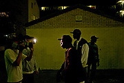 VIDEO SHOOT ON YELLOWBRICK ESTATE, PECKHAM, SOUTH LONDON 2007