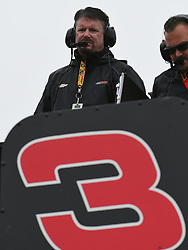 February 23, 2019 - Hampton, GA, U.S. - HAMPTON, GA - FEBRUARY 23: Andy Petree, Vice President of Competition for Richard Childress Racing during practice for the Monster Energy Cup Series QuikTrip Folds of Honor 500 on February 23, 2019, at Atlanta Motor Speedway in Hampton, GA.(Photo by Jeffrey Vest/Icon Sportswire) (Credit Image: © Jeffrey Vest/Icon SMI via ZUMA Press)