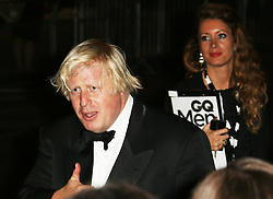 Boris Johnson, GQ Men of the Year Awards, Royal Opera House, London UK, 03 September 2013, (Photo by Richard Goldschmidt)
