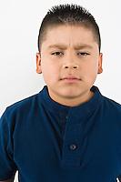 Portrait of pre-teen (10-12) boy