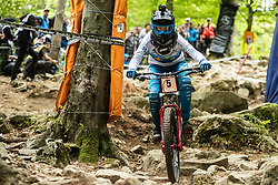 Monika Hrastnik during ladies elite run at Mercedes-Benz UCI Mountain Bike World Cup competition in Bike Park Pohorje, Maribor on 27th of April, 2019, Slovenia.  . Photo by Grega Valancic / Sportida
