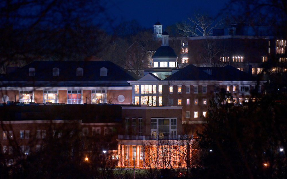 18143Night Shots of Campus