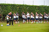 Pascal Baills / Rolland Courbis  - 30.06.2015 - Reprise de Montpellier - 2015/2016<br />Photo : Alexandre Dimou / Icon Sport