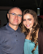 FILE: Lily Collins & Phil Collins - March 2017