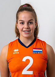 21-12-2018 NED: Photoshoot selection of Orange Young Girls, Arnhem <br /> Orange Young Girls 2018 - 2019 / Sanne Konijnenberg #2