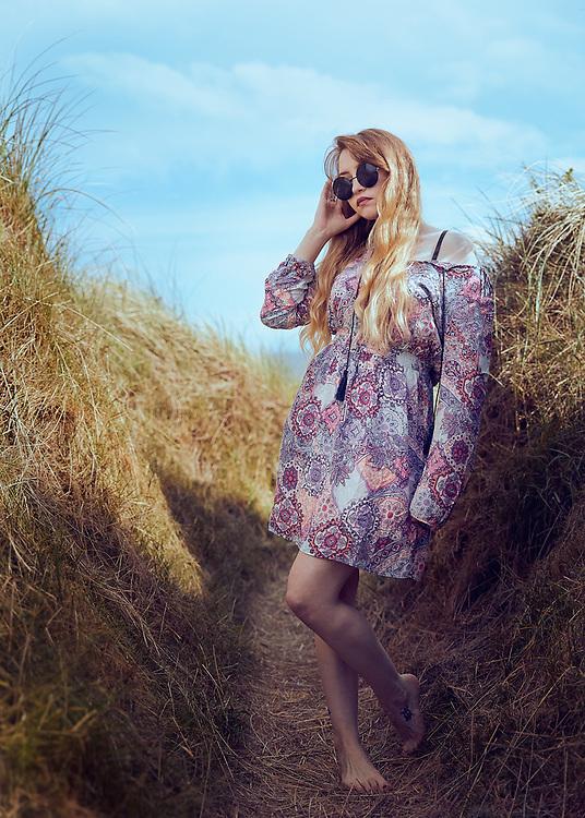 advertising photography summer dress uk