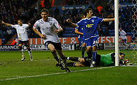 Photo: Steve Bond/Sportsbeat Images.<br /> Leicester City v West Bromwich Albion. Coca Cola Championship. 08/12/2007. Zoltan Gera (L) turns away after scoring