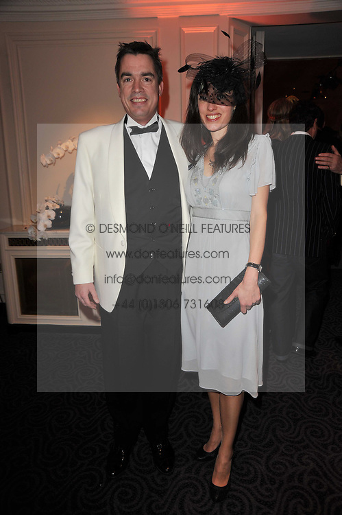 Co0Founder of Quintessentially PAUL DRUMMOND and KIRSTY CUNNINGHAM at Quintessentially's 10th birthday party held at The Savoy Hotel, London on 13th December 2010.