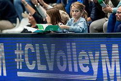 08-11-2017 NED: CEV CL Abiant Lycurgus - Noliko Maaseik, Groningen<br /> Abiant/Lycurgus verloor in de derde voorronde met 1-3 van het Belgische Noliko Maaseik: 19-25 25-22 17-25 22-25 / Support publiek jeugd