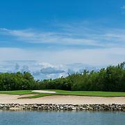 El Camaleon Mayakoba golf course. Riviera maya, Mexico.