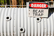 Bear trap, Yosemite National Park, California USA