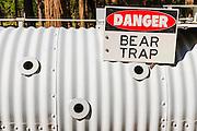 Bear trap, Yosemite National Park, California USA