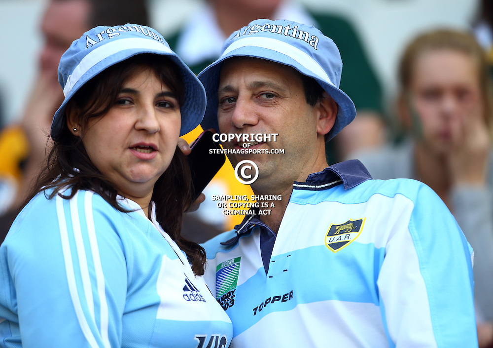 Nelspruit, SOUTH AFRICA, 20 August, 2016 - General views of fans during the match between South Africa and Argentina in The Rugby Championship at the Mbombela Stadium, Nelspruit (Photo by Steve Haag UAR)