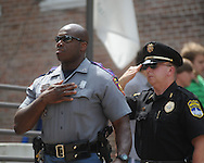 Anthony Granderson at Peace Officer Memorial Day on Friday, May 14, 2010 in Oxford, Miss.