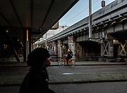 Amsterdam, biking early morning