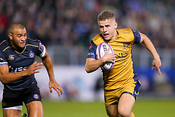 Billy Searle of Bristol Rugby breaks - Rogan Thomson/JMP - 20/10/2016 - RUGBY UNION - The Recreation Ground - Bath, England - Bath Rugby v Bristol Rugby - EPCR Challenge Cup.