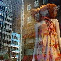 Saks Fifth Avenue spring, paint splatter dress