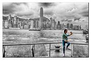 Selfie in Hong Kong. Nikon D850, 24-70mm @ 31mm, f6.3, EV+0.33, 1/800sec, ISO160, Aperture priority