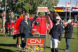 Ward Mclain (USA) - Sapphire<br /> CN Grand Prix<br /> Spruce Meadows Masters - Calgary 2009<br /> © Dirk Caremans