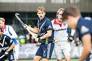 AMSTELVEEN - Dennis Warmerdam (Pinoke). Hoofdklasse competitie heren. Pinoke-SCHC (0-1) . COPYRIGHT  KOEN SUYK