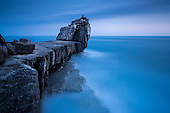 Pulpit Rock at Portland Bill, Dorset, UK.<br /> Picture date: Tuesday June 7, 2016.<br /> Photograph by Christopher Ison &copy;<br /> 07544044177<br /> chris@christopherison.com<br /> www.christopherison.com