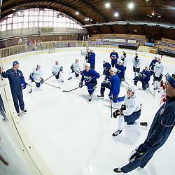 20150203: SLO, Ice Hockey - Practice session of Slovenian Ice-Hockey National Team