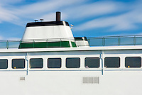 Ferry in Friday Harbor San Juan Island Washington USA