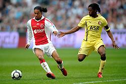 25-04-2010 VOETBAL: AJAX - FEYENOORD: AMSTERDAM<br /> De eerste wedstrijd in de bekerfinale is gewonnen door Ajax met 2-0 / Urby Emanuelson en Georginio Wijnaldum<br /> ©2009-WWW.FOTOHOOGENDOORN.NL