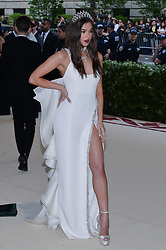 Hailee Steinfeld walking the red carpet at The Metropolitan Museum of Art Costume Institute Benefit celebrating the opening of Heavenly Bodies : Fashion and the Catholic Imagination held at The Metropolitan Museum of Art  in New York, NY, on May 7, 2018. (Photo by Anthony Behar/Sipa USA)