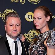 NLD/Amsterdam/20181011 - Televizier Gala 2018, Dennis Weening en Nicolette Kluijver