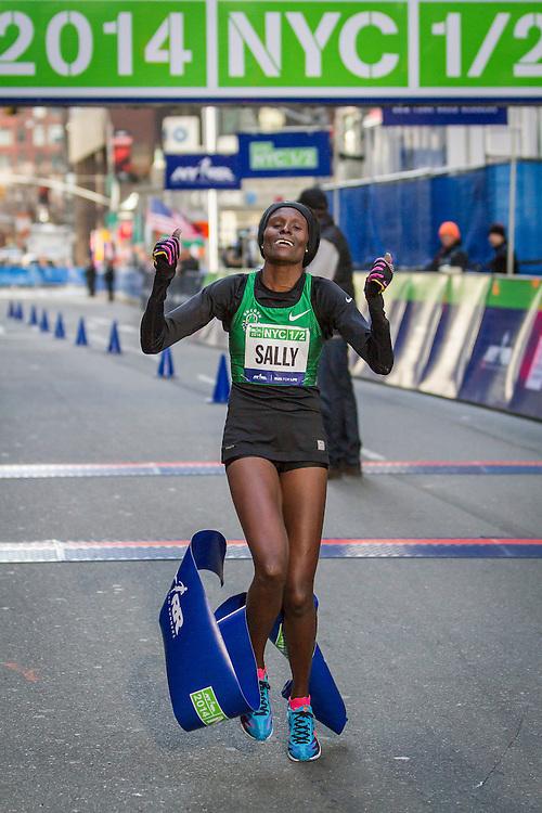 Sally Kipyego wins