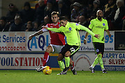 Brighton striker, Anthony Knockaert (27) during the Sky Bet Championship match between Rotherham United and Brighton and Hove Albion at the New York Stadium, Rotherham, England on 12 January 2016.