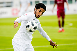 Djair Terraii Carl Parfitt-Williams of NK Rudar Velenje during football match between NK Triglav Kranj and NK Rudar Velenje in Round #27 of Prva Liga Telekom Slovenije 2017/18, on April 15, 2018 in Sports park Kranj, Kranj, Slovenia. Photo by Ziga Zupan / Sportida