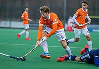 BLOEMENDAAL -   Mats de Groot (Bldaal) tijdens de competitie hoofdklasse hockeywedstrijd heren, Bloemendaal-Pinoke (3-2)   COPYRIGHT KOEN SUYK