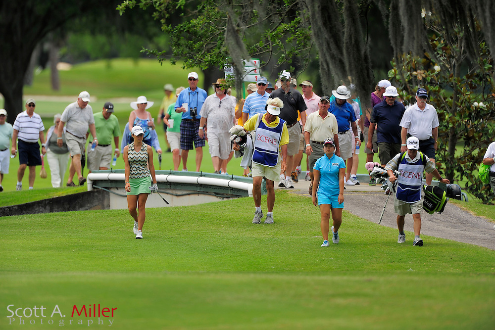 Gallery during the final round of the Symetra Tour's Guardian Retirement Championship at Sara Bay in Sarasota, Florida April 28, 2013. ..©2013 Scott A. Miller