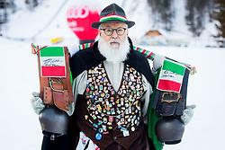 Italian fan during FIS Cross-Country World Cup Planica 2018, on January 21, 2018 in Planica, Kranjska Gora, Slovenia. Photo by Ziga Zupan / Sportida